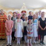 В Свято-Вознесенском храме с. Новобессергеновка состоялось представление «Симфония»