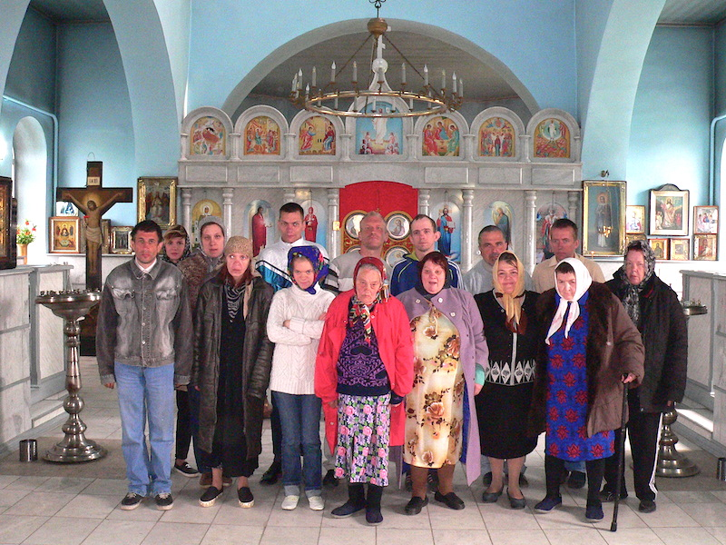 Магдалининиский храм с. Андреево-Мелентьево посетили подопечные таганрогского психоневрологического интерната № 1