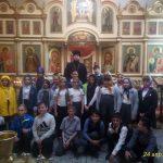 Клирик Сергиевского храма Таганрога провел экскурсию для школьников