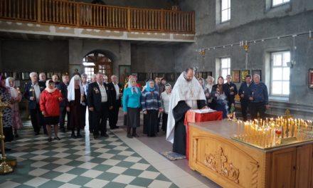 Поминальное богослужение по жертвам аварии на Чернобыльской АЭС прошло в Покровском храме