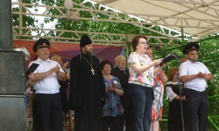 Клирик Покровского храма села Натальевка посетил фестиваль юных инспекторов движения «Безопасное колесо – 2018»