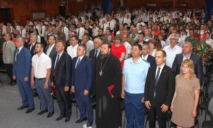 Благочинный приходов Таганрогского округа принял участие в торжествах по случаю столетия образования Пограничных войск