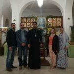 В Александро-Невском храме с. Вареновка состоялась встреча представителей молодежного отдела благочиния