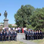 Священнослужители Таганрога приняли участие в открытии праздничных мероприятий, посвящённых Дню России