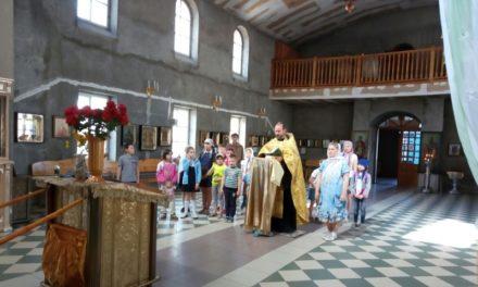 В Покровском приходе Неклиновского района открылся детский летний лагерь