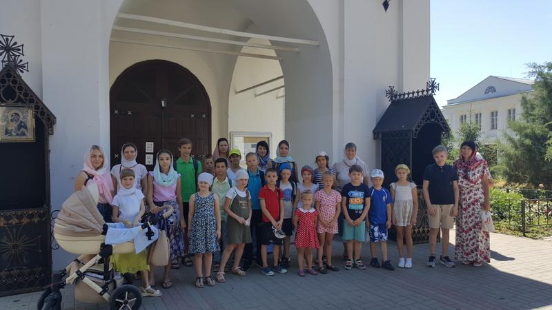 Завершилась работа летней площадки воскресной школы Сергиевского храма Таганрога