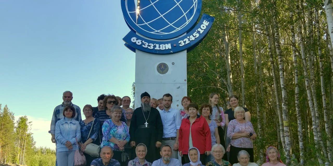 Состоялась поездка паломнической группы ко святыням Русского Заполярья