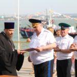 Священнослужители Таганрогского благочиния приняли участие в праздновании Дня Военно-морского флота России