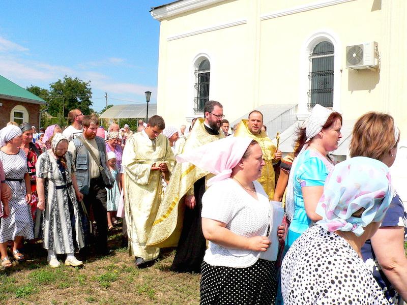 Магдалининский приход с. Андреево-Мелентьево отметил престольный праздник