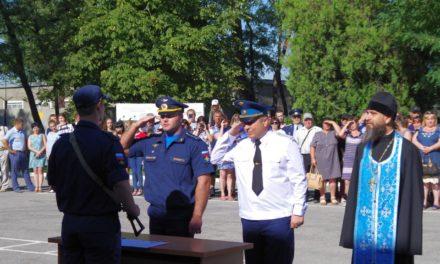 В канун дня ВВС в Таганрогском гарнизоне состоялось торжественное принятие присяги