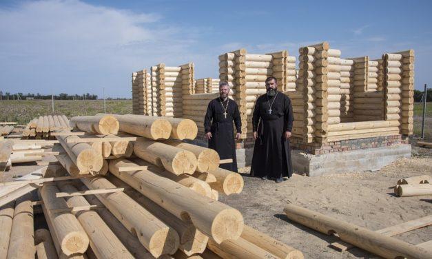 В Таганроге успешно продолжается возведение нового Ильинского приходского храма