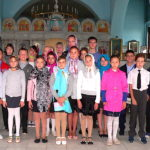 В Магдалининском храме с. Андреево-Мелентьево причастились ученики Носовской школы