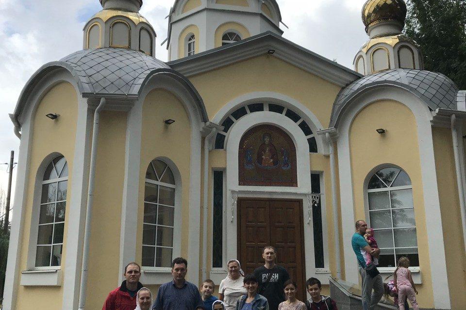 Состоялась паломническая поездка прихожан Никольского храма Таганрога на подворье Иверского монастыря в с. Петровка