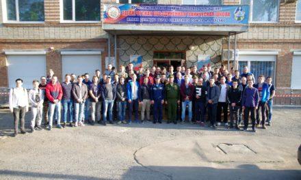 Помощник благочинного Таганрогского округа принял участие в открытии курсов молодых призывников