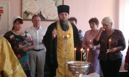 Клирик Сергиевского храма совершил молебен в школе № 30 г. Таганрога