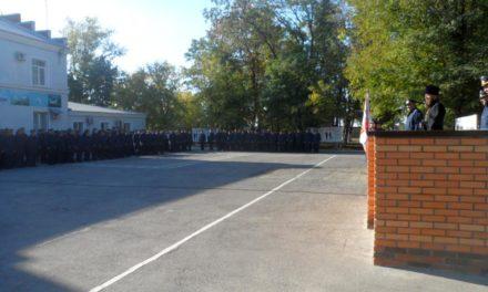 Помощник благочинного Таганрогского округа принял участие в праздновании 76-летия создания 708 гвардейского полка военно-транспортной авиации