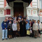 Прихожане храма Серафима Саровского посетили выставку «Храмы в искусстве русских художников» в Таганрогском художественном музее
