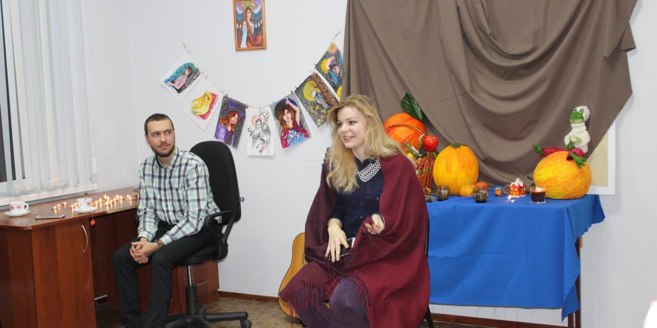 18 ноября состоялся арт-вечер, организованный молодежным отделом Таганрогского благочиния