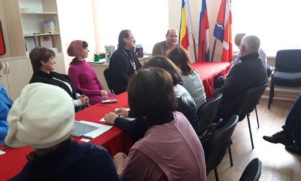 Вопросы развития Преображенского прихода с. Самбек обсудили на собрании жители села