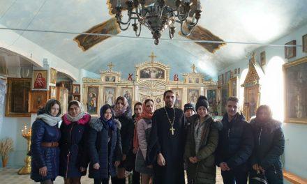 В храме Рождества Пресвятой Богородицы Таганрога состоялась встреча священника со студентами педагогического института