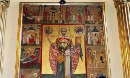 В Никольском храме отметили престольный праздник святителя Николая Чудотворца