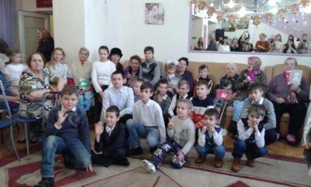 Рождественские поздравления в таганрогском доме-интернате для престарелых и инвалидов