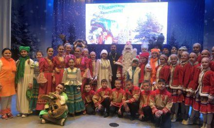 В Таганроге три тысячи детей посетили благотворительную Рождественскую ёлку
