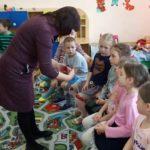 В детском саду села Андреево-Мелентьево стартовал курс православной культуры для дошкольников «Добрый мир»