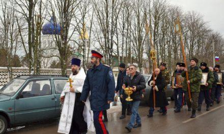 В хуторе Красный Десант прошли торжества в честь праздника Крещения Господня