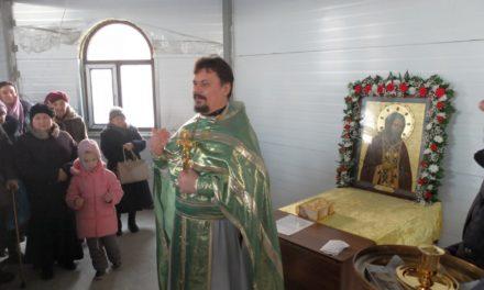 В строящемся храме преподобного Серафима Саровского города Таганрога отметили престольный праздник