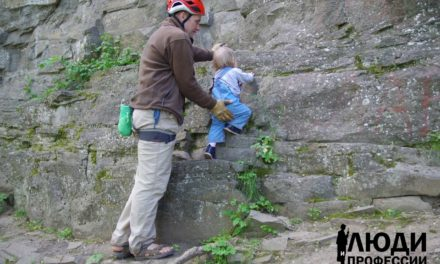 Люди и профессии. Альпинист Андриян Спичка.