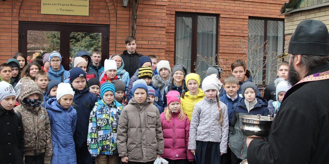 24 марта состоялся благочиннический тур Кирилло-Мефодиевской олимпиады по Священной истории и Закону Божьему