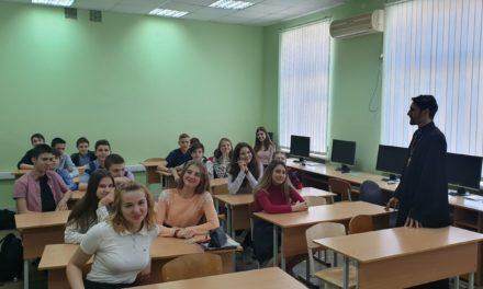 В таганрогской школе № 8 состоялся «урок трезвости»