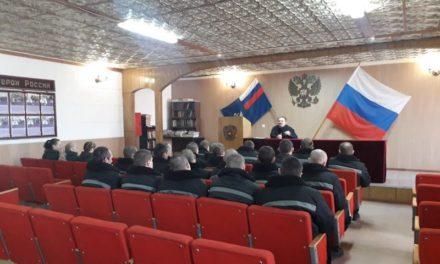 Настоятель Сергиевского храма Таганрога провел беседу с осужденными о Великом посте