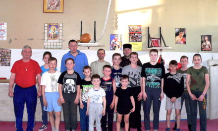 Настоятель Магдалининского храма с. Андреево-Мелентьево провел беседу с воспитанниками военно-патриотического клуба «Преображение»