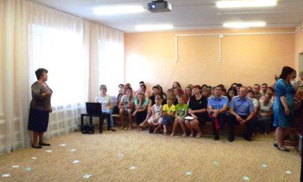 Помощник благочинного Таганрогского округа выступила с докладом на родительском собрании в детском саду