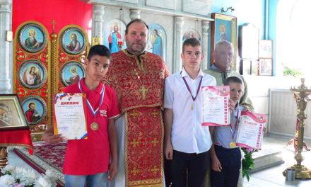Воспитанники клуба «Преображение» Магдалиниского храма стали победителями турнира «Кубок Таганрога по боксу»
