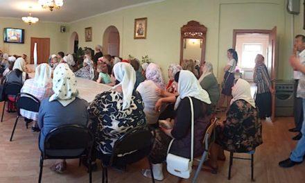 В Магдалининском храме с. Андреево-Мелентьево прошла беседа, посвященная взаимодействию Церкви и СМИ