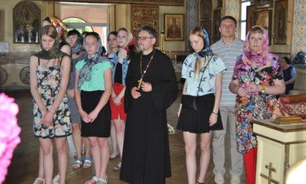 Приход Вознесения Господня с. Новобессергеневка посетили студенты Таганрогского педагогического лицея