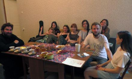 Состоялась встреча молодежи благочиния с поэтом и преподавателем Антоном Кореневским