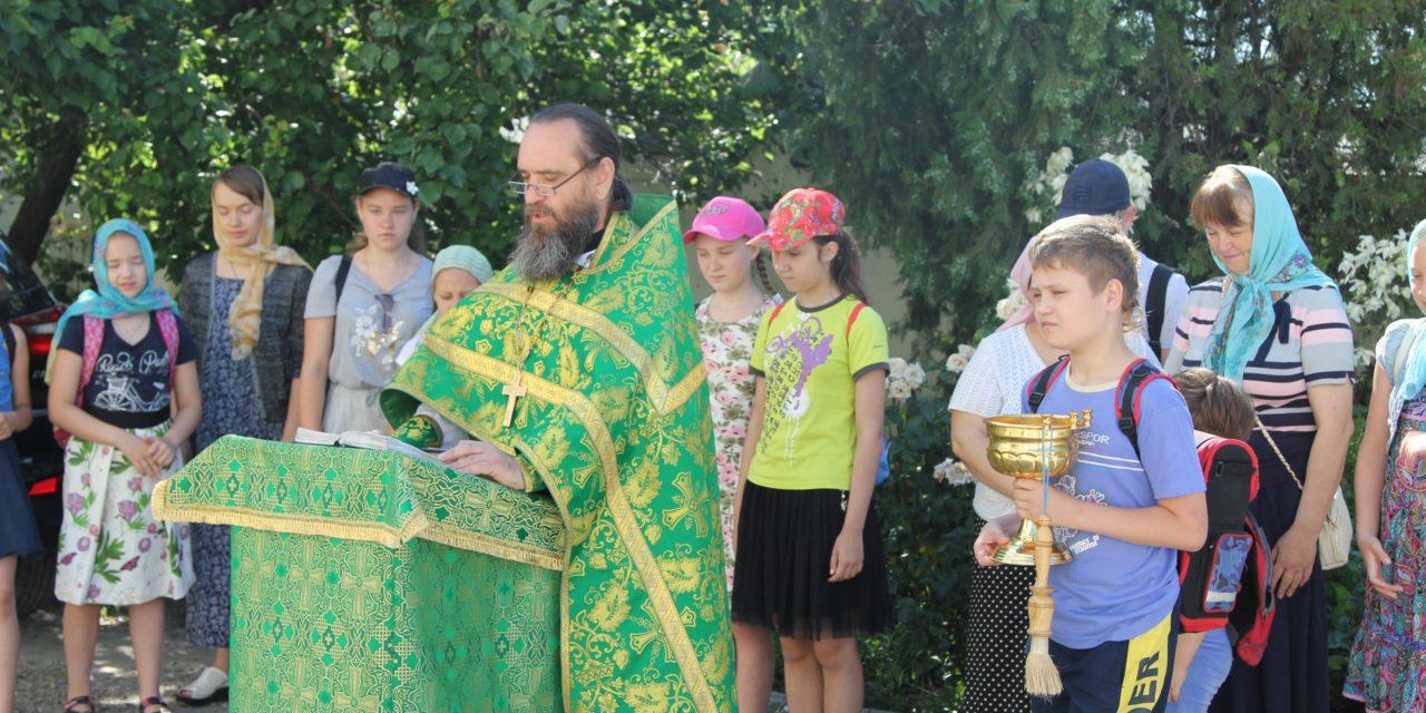 При Никольском храме Таганрога начала работу детская летняя площадка
