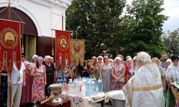 Престольный праздник отметили в храме Всех Святых села Синявское
