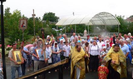 В селе Андреево-Мелентьево отметили престольный праздник храма в честь святой Марии Магдалины