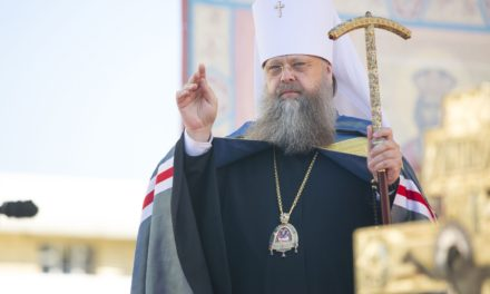 Духовенство и миряне Донской митрополии поздравляют митрополита Меркурия с годовщиной служения Церкви Христовой