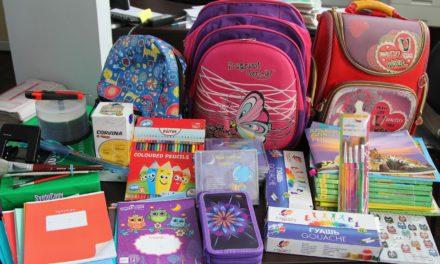 На приходах таганрогского благочиния завершилась акция «Соберем ребенка в школу»