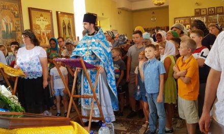 В Петропавловском приходе с. Приморка завершилась акция «Соберем ребенка в школу»
