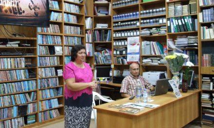 В Центре семьи и молодёжи состоялась встреча с писателем Ириной Ордынской