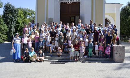 Поездка воскресной школы Георгиевского храма в село Петровку