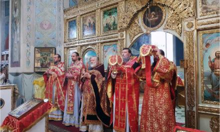 27 сентября в храме Воздвижения Креста Господня села Троицкое Неклиновского района прошли торжества в честь престольного дня