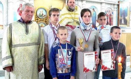 Воспитанники клуба «Преображение» храма святой Марии Магдалины стали победителями турнира по боксу, посвященного празднику Покрова Пресвятой Богородицы